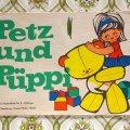 東ドイツ ペッツとピュッピ 塗り絵絵本 14026 1965年