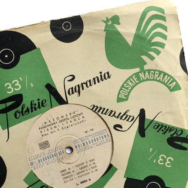 画像1: ポーランドPRLポルスキ・ナグラニア レコード L 0003 1954-55年