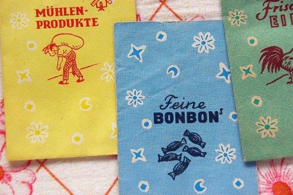 画像2: 東ドイツ ドールハウス商店買い物袋商品袋  各種