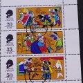 東ドイツ 記念切手シート CTO 童話 アンデルセン 裸の王様