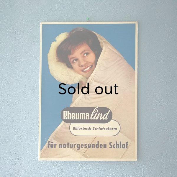 画像1: 西ドイツ 企業広告パネル 立て札