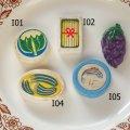 東ドイツ、ドイツ ドールハウス用古い食玩  I
