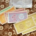 東ドイツ 子供銀行券(おもちゃのお金セット)
