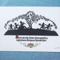 東ドイツプリシュケオリジナルクリスマス新年カード 1801