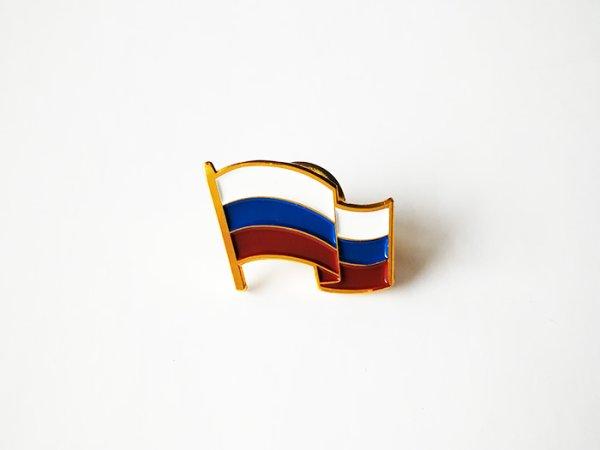 画像1: ロシア フラッグピンズ